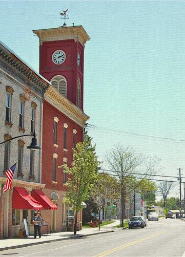 Chatham, NY Clocktower, Columbia County NY